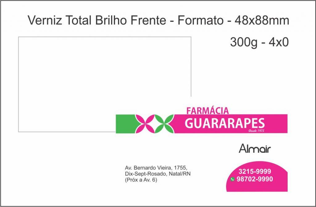 Cartão de visitas farmácia